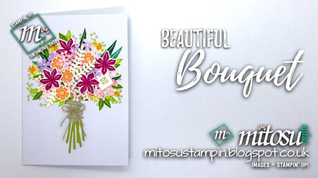 Stamp Review Crew Beautiful Bouquet Mitosu Crafts